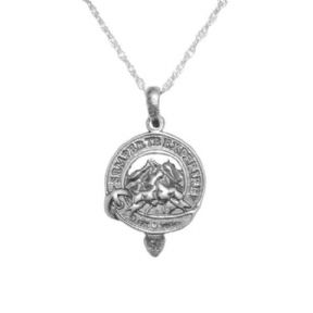 Exclusive Outlander Inspired Clan Heughan Silver Pendant 1017